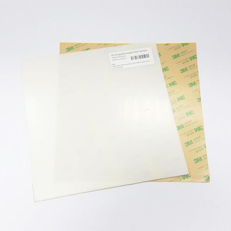 PEI (Polyetherimide) 220mm x 220mm Sheet