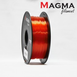 Magma PLA Filament 1.75mm - Transparent Red