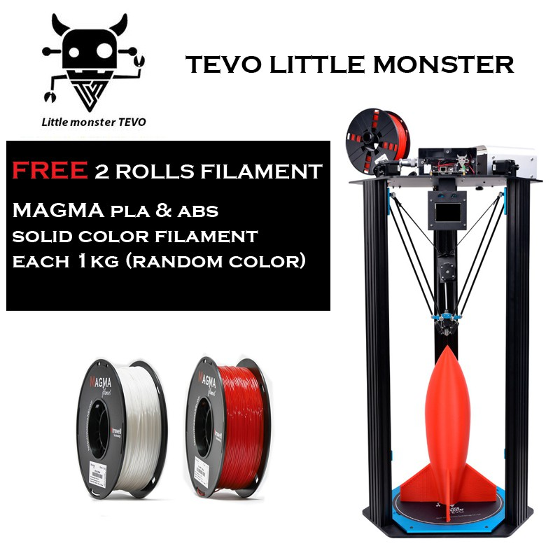 TEVO Little Monster Delta 3D Printer (Display Unit)