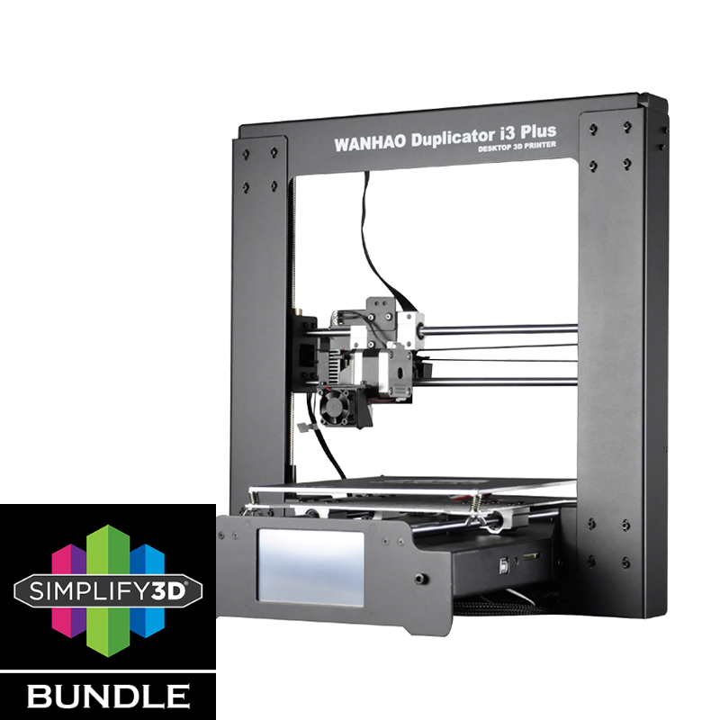 Wanhao Duplicator i3 Plus Simplify3D Bundle Semi DIY 3D Printer