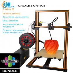 Creality CR-10S Simplify 3D Bundle Semi DIY 3D Printer Kit