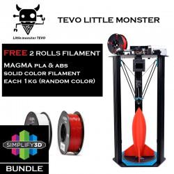 TEVO Little Monster Simplify3D Bundle DIY Kit Delta 3D Printer