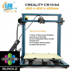Creality CR10-S4 Simplify3D Bundle Semi DIY 3D Printer Kit