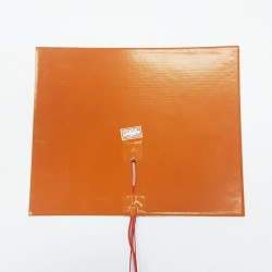 Silicone Heating Pad 220V 415W 220mm x 270mm with Thermistor