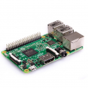 Raspberry Pi 3 Model B, 1.2GHz CPU, 1GB RAM, WiFi/BLE