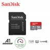 SanDisk Ultra Class 10 microSD UHS-I Card with Adapter