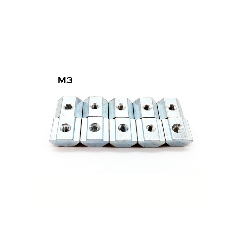 2020 Sliding Nut M3/M4/M5- 10pcs