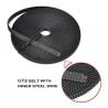 GT2 Belt 6mm with Steel Wire Core – 1 meter
