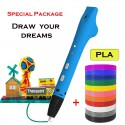 Beginner PLA 3D Pen Printing - Special Package