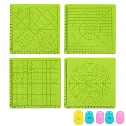 3D Printing Pen Silicone Design Mat Set with 5 Finger Protectors