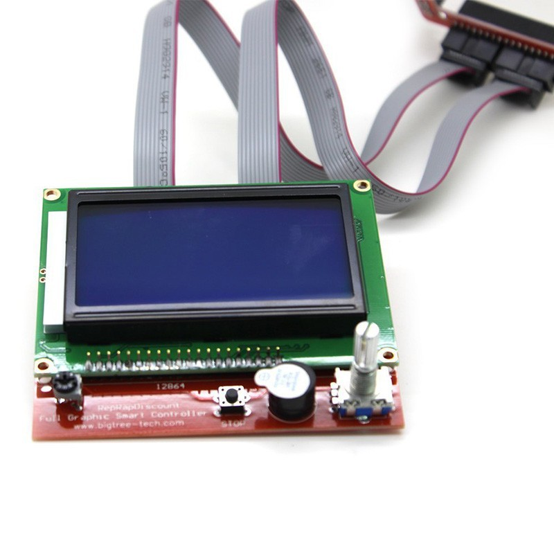 12864 Smart Graphic Display LCD with Controller