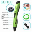 Sunlu Intelligent SL-300 PLA/ ABS 3D Pen III