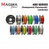 Magma ABS Filament 1.75mm - Transparent/ Fluorescent/ Luminous