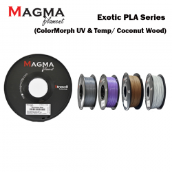 Magma PLA Exotic Filament 1.75mm - ColorMorph/ Wood