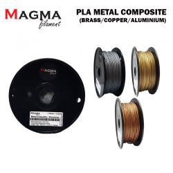 Magma Metal Composite Series 1.75mm 0.50 KG 3D Printer Filament (Ready Stock)