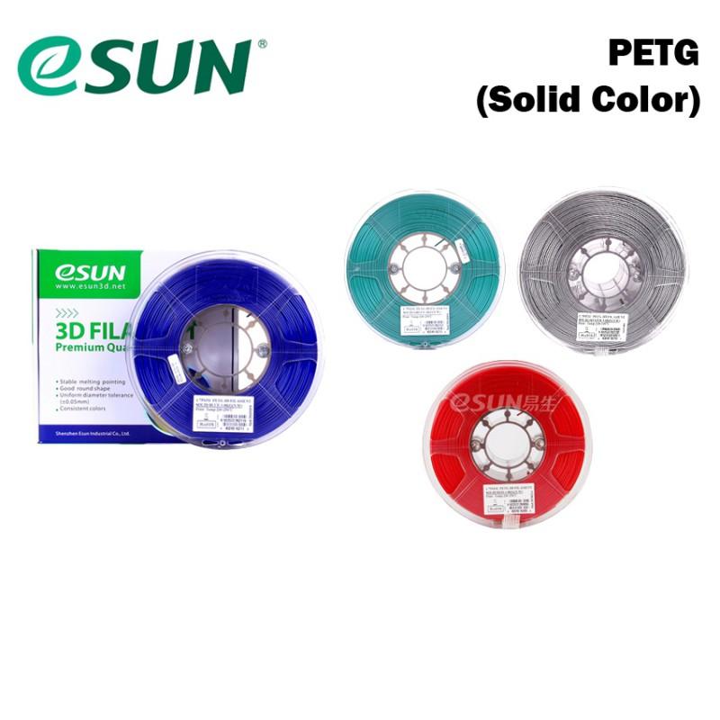 eSUN 3D Filament PETG 1.75mm Solid Color Series