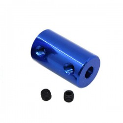 Blue Aluminum Coupling 5x5MM