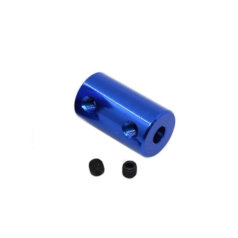 Blue Aluminum Coupling 5x5MM