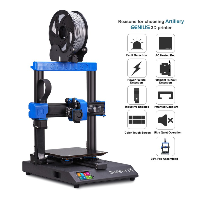 Artillery® Genius 3D Printer Kit | 3D printer