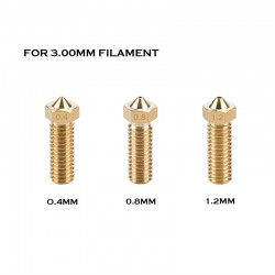 E3D Volcano Compatible Nozzle - 3.00mm Filament