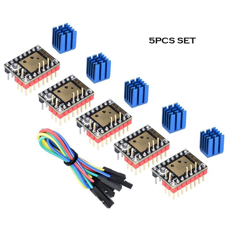 Bigtreetech TMC 2209 V1.2 Stepper Motor Driver - 5pcs Set
