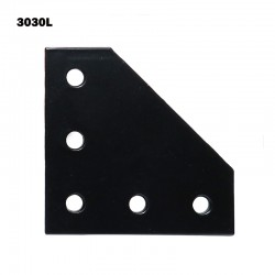 3030 90 Degrees Corner Plate