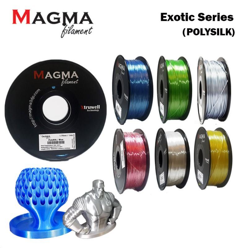 Magma Exotic PolySilk Series Filament 1.75mm