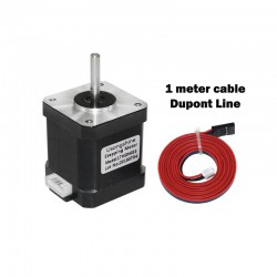 Nema 17 42x48mm Stepper Motor with 1 meter cable Dupont line