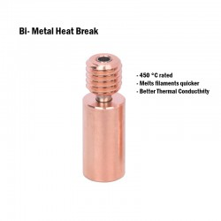 Bi-Metal Heat Break Compatible for CR10 and Ender Series - 1.75mm filament