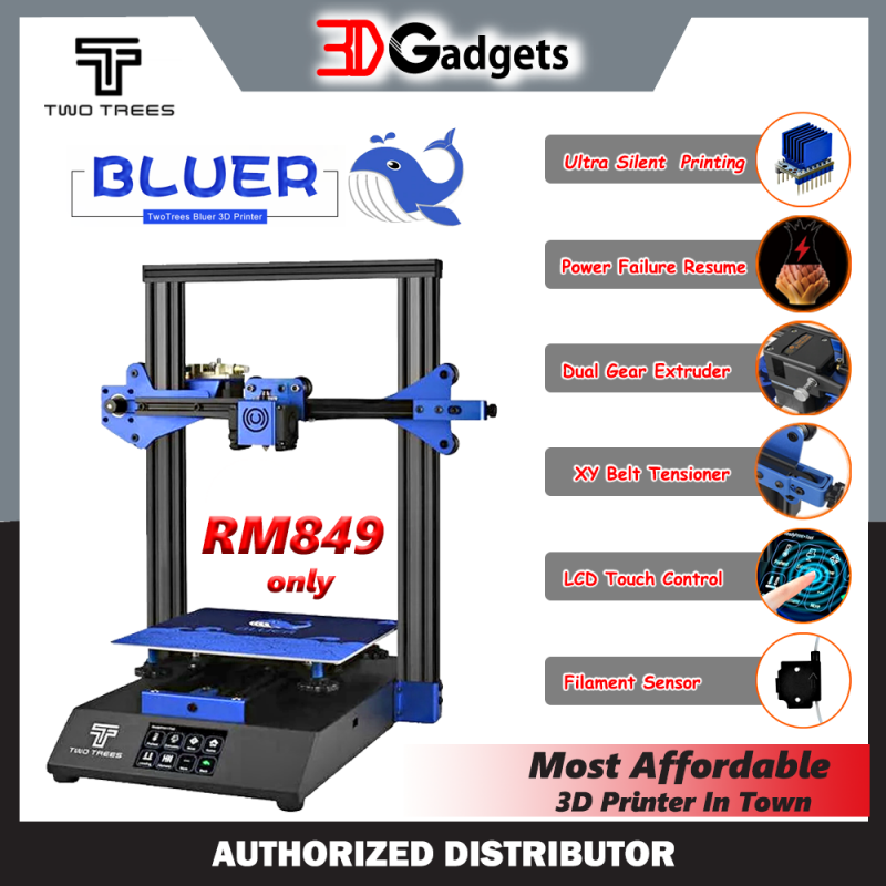 TwoTrees Bluer Semi DIY 3D Printer Kit