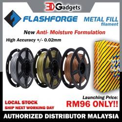 FlashForge Metal Filled PLA Filament 1.75mm