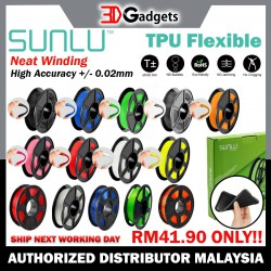 Sunlu TPU Flexible Filament 1.75mm Series 0.5KG