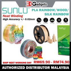 Sunlu Filament 1.75mm PLA - Wood/ Rainbow/ Silk Rainbow