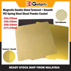Magnetic Double Sided Textured + Smooth PEI Spring Steel Sheet