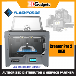 FlashForge Creator Pro 2 | Dual Independent Extruder 3D Printer
