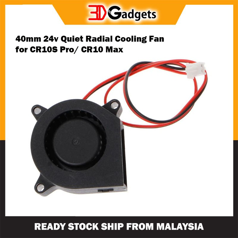 40mm 24v Quiet Radial Cooling Fan for CR10S Pro/ CR10 Max