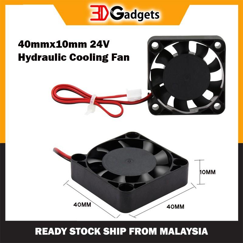 40mmx10mm 24V Hydraulic Cooling Fan