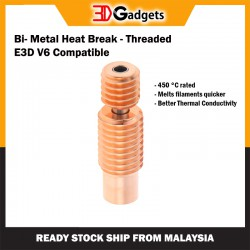 Bi-Metal E3D V6 Compatible Heat Break - 1.75mm