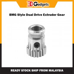 BMG Style Drive Gear for Dual Drive Extruder