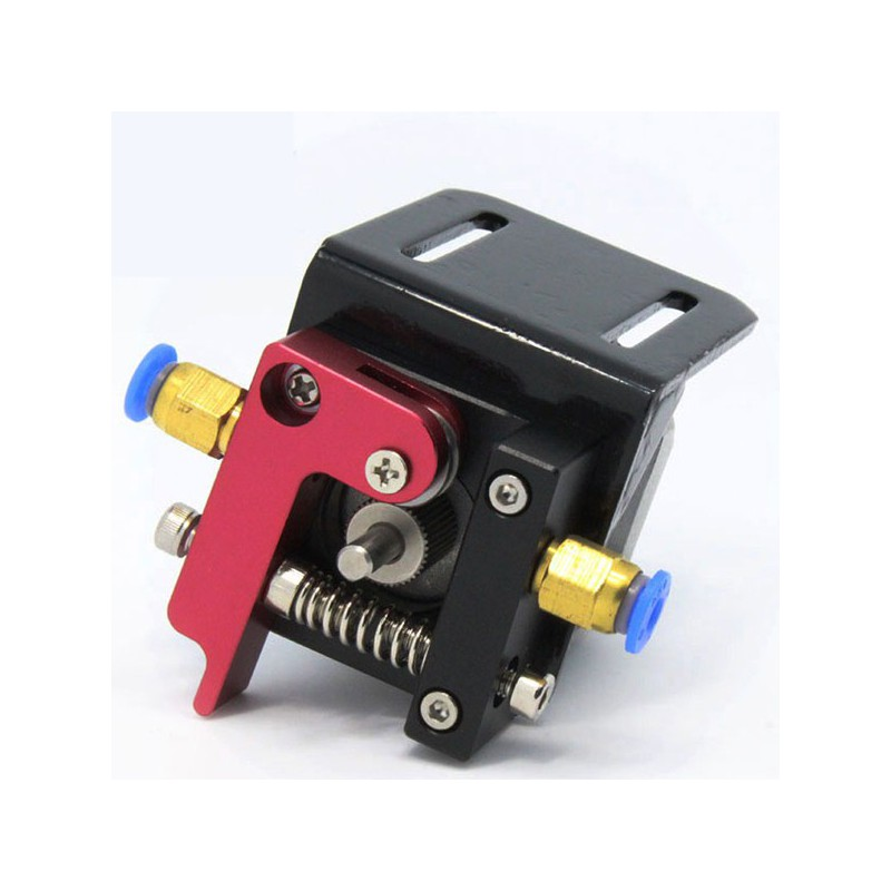 Full Metal Bowden Extruder Complete Kit 1 75mm Left - 3D Gadgets Malaysia  by Trinventor Solution (002596001-H)