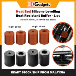 Heat Bed Silicone Levelling Heat Resistant Buffer - 1 pc