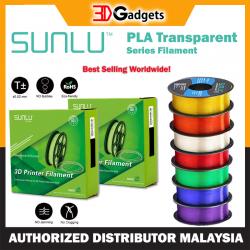Sunlu PLA Transparent Series 3D Printer Filament 1.75mm 1KG