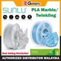 Sunlu PLA Marble/ Twinkling Filament 1.75mm 1KG
