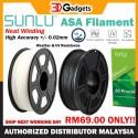Sunlu ASA 3D Printer Filament 1.75mm 1KG