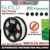 Sunlu PC 3D Printer Filament 1.75mm 1KG - Natural