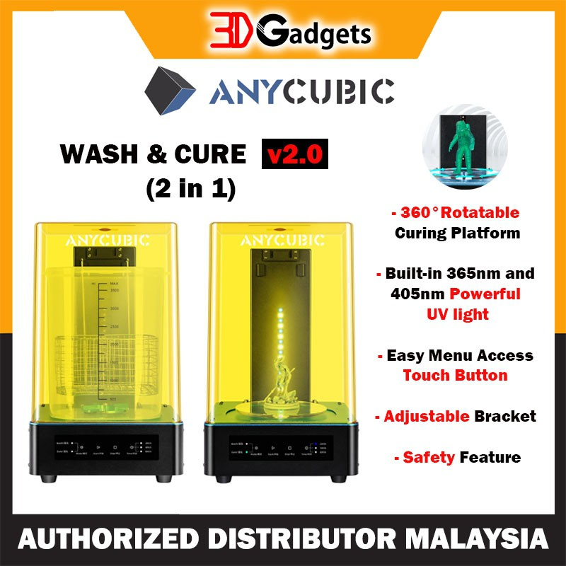 Anycubic Wash & Cure 2.0 Machine (2 in 1)