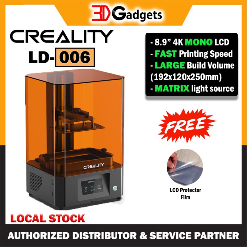 Creality 3D LD-006 Monochrome LCD Resin 3D Printer - Bigger Print Size