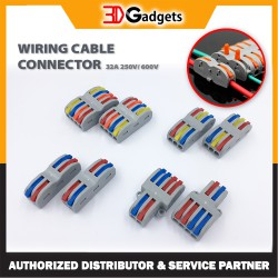 Wire Cable Connector Wiring Conductor 32A 250V Terminal Block For 3D Printer