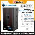 FlashForge Foto 13.3 Large Size Monochrome HD 4K LCD MSLA 3D Printer