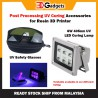 Resin Post Processing Accessories UV LED 405nm Curing Light/ UV Safety Glasses